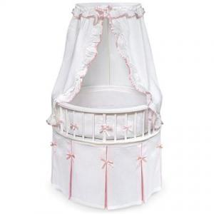 Badger Basket - Round Elegance Baby Bassinet