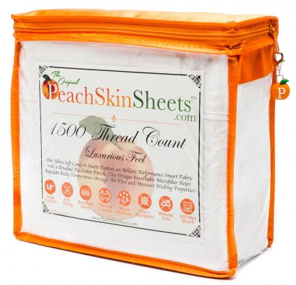 Peach Skin Sheets