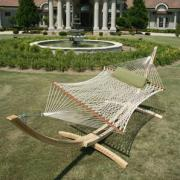 Deluxe Oatmeal Duracord Rope Hammock
