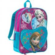 Disney Frozen Deluxe Heart Shaped Backpack
