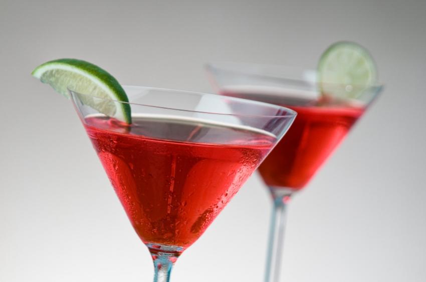 Cranberry Citrus Martini