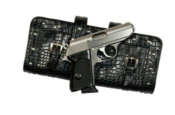 gun and purse