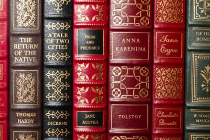 Classic novels; copyright Brad Calkins at Dreamstime.com