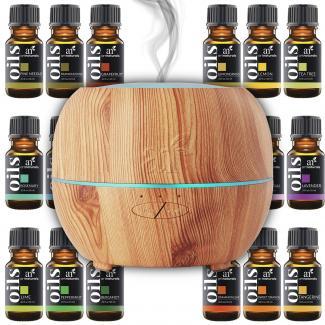 Art Naturals Essential Oil Diffuser and 16 essential oil set