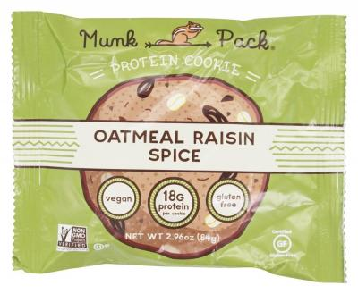 Munk Pack - Protein Cookie Oatmeal Raisin Spice