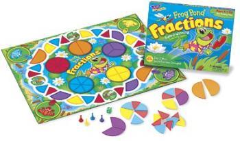 Frog Pond Fractions game