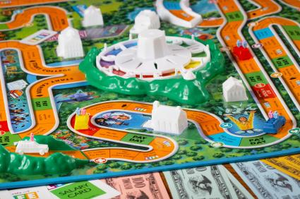 Life Game Board Spaces The Game of Life Instr...