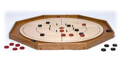 Crokinole board from WorkshopSupply.com