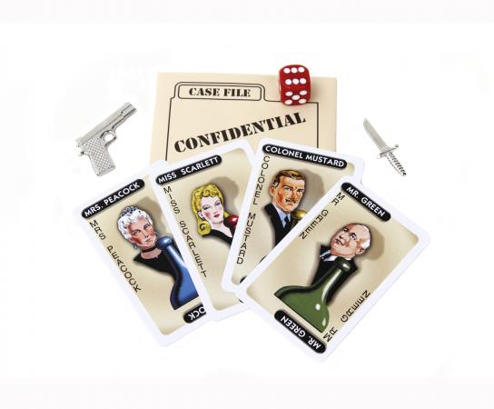 Clue game pieces