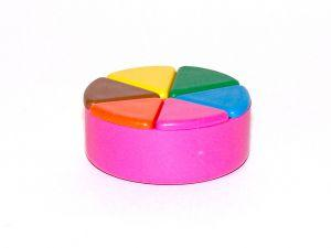 Trivial Pursuit pie shaped gamepieces
