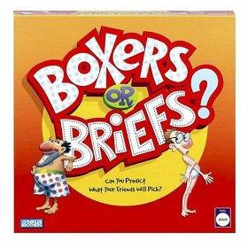 Boxers or Briefs? It's anybody's guess!
