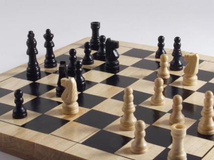 A Chess game in progress