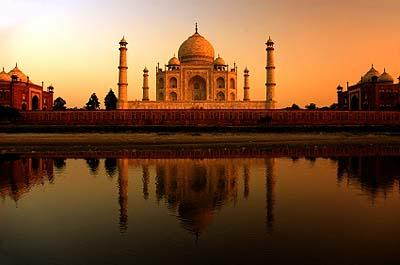 India- The Taj Mahal