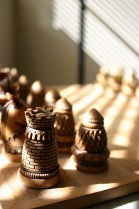Ancient Chess Pieces