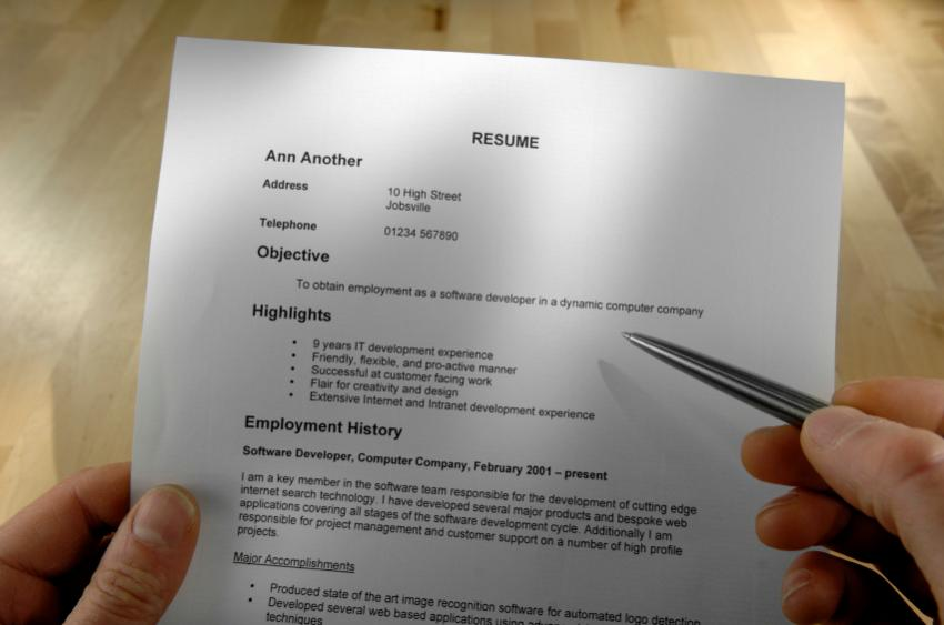 resume objective examples lovetoknow