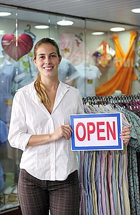Retail Store Open