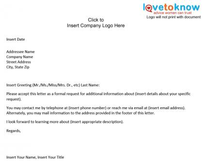 Free Office Meeting Notification Letter Sample Example Format