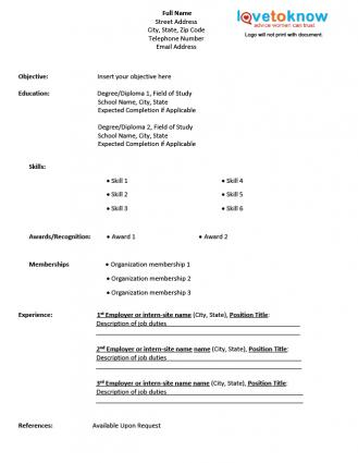 how a resume online make for references. free resume templates ... Format To Make Resume. create resume online free ...