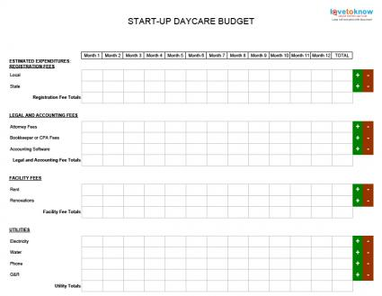 Free Home Daycare Business Plan Template  Home Plan
