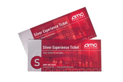 AMC Theater Movie Tickets for Christmas