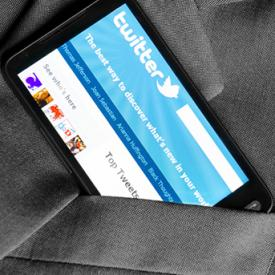 Access Twitter on a Smartphone