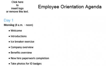 the importance of new employee orientation business essay Articles & white papers » making employee orientation count share feeling connected and developing relationships can be an important part of orientation immersed in team-based innovation projects that focus on anything from developing new products to coming up with whole new business.