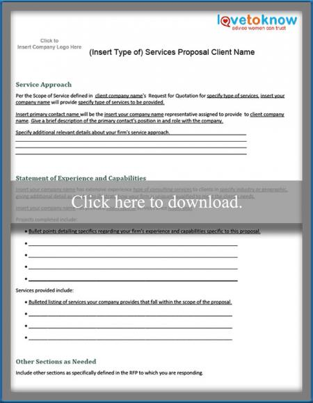 Free Business Proposal Samples – Bank Loan Proposal Sample