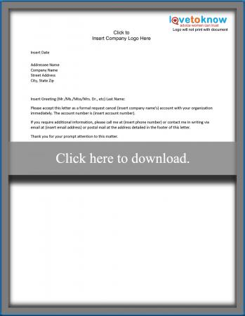 Collections Letter Template