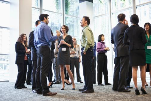 networking at conference