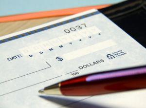 A garnishment letter can take money out of your paycheck.