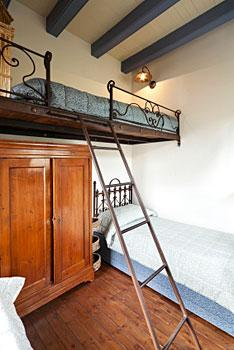 Loft beds are convenient for use in dorm rooms, efficiency apartments, ...