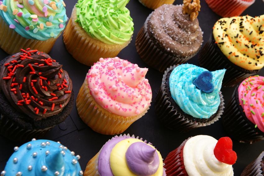 fun cupcake ideas slideshow. Black Bedroom Furniture Sets. Home Design Ideas