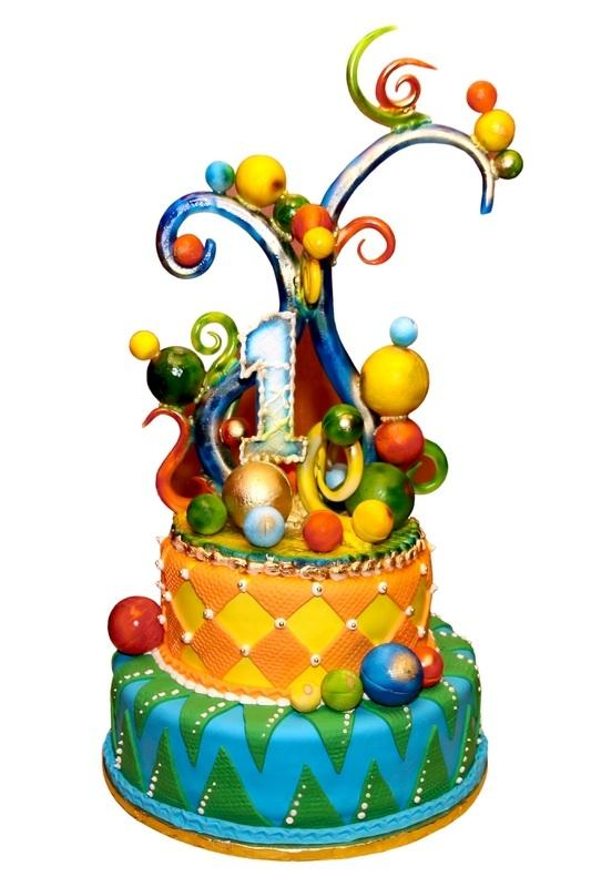 Fondant Birthday Cakes Slideshow
