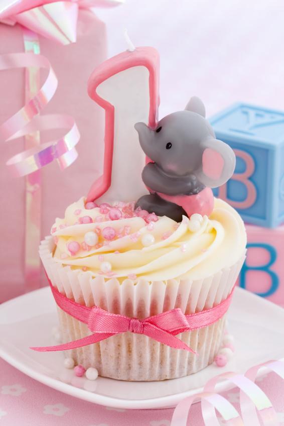 first birthday cupcake cake designs
