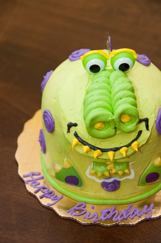 Dino Skeleton Cake