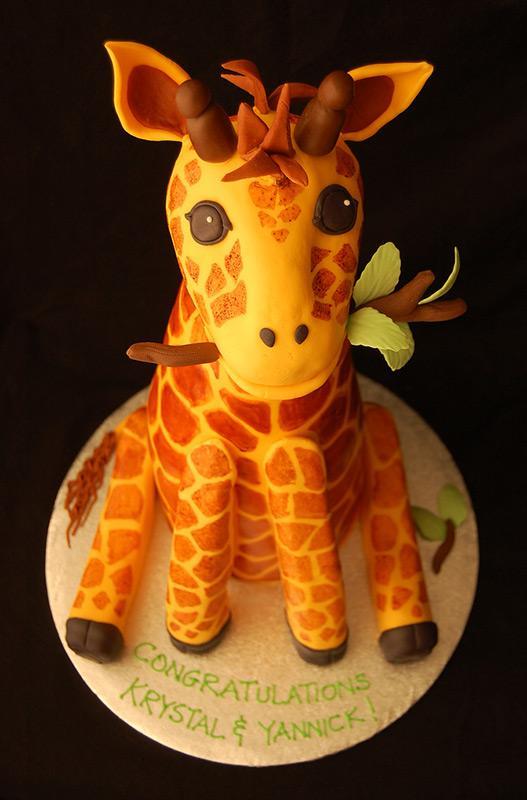 Cake Designs Giraffe : Giraffe Cake Designs [Slideshow]