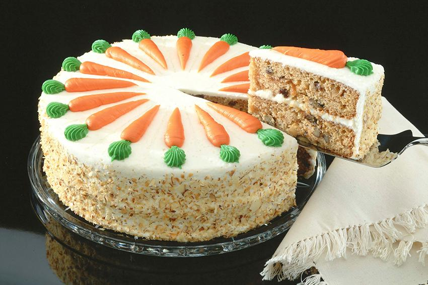 how to make carrot cake decorations