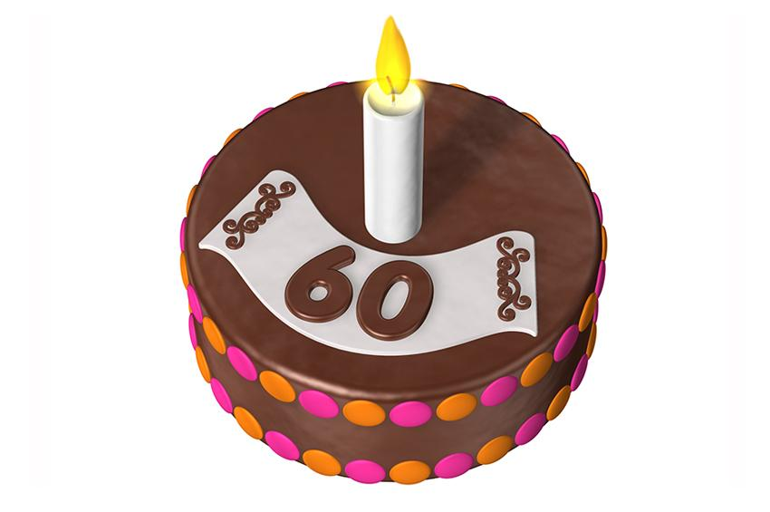 Fondant Cake Designs For 60th Birthday : 60th Birthday Cake Ideas [Slideshow]