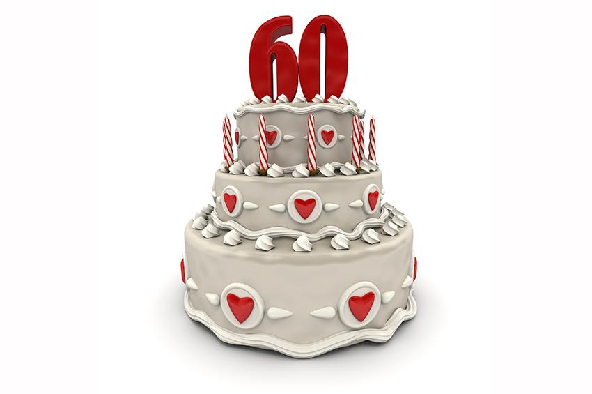 60th birthday cake ideas slideshow for 60th birthday cake decoration