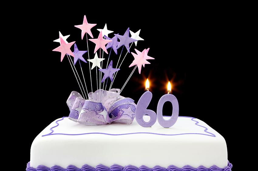 60th Birthday Cake Ideas [Slideshow]