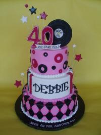 40th Birthday Cake Ideas LoveToKnow