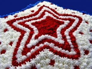 Patriotic Star; © Donna Smith at Dreamstime.com