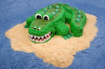 alligator pan