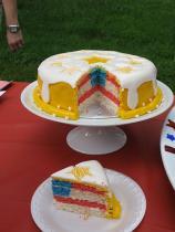 Yellow Flag Cake