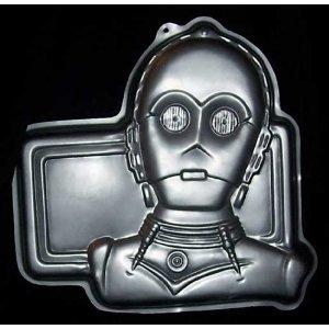 C-3PO cake pan