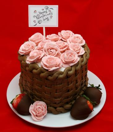 Gallery for valentines sheet cake ideas - Valentines day cake designs ...