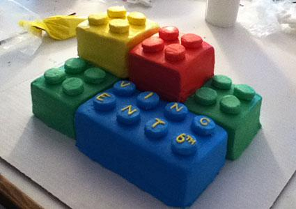 Birthday Cake Ideas Lego ~ Lego brick cake design dmost for