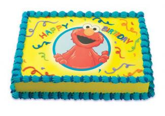 Elmo Cake Decorating Instructions : Elmo Cake Decorating