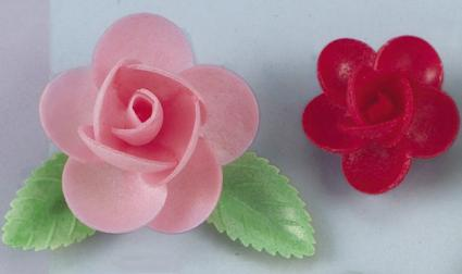 wafer flowers from avalon deco supplies inc source purchasing cake decorating supplies through wholesale - Wholesale Cake Decorating Supplies