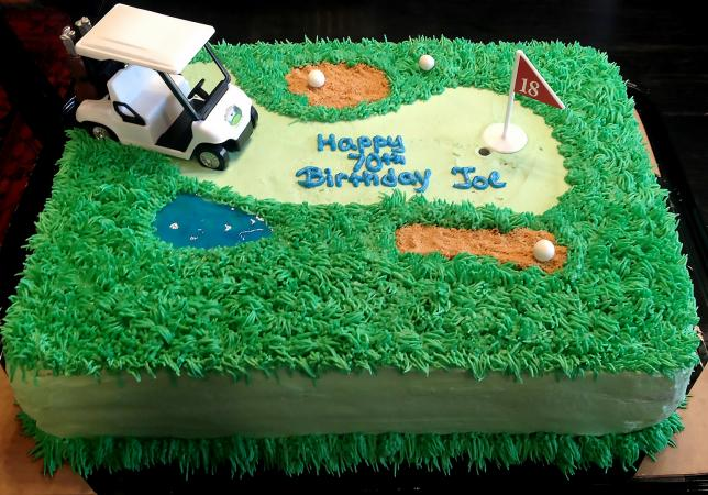Golf Cart Cake by Cool Cat Cupcakes